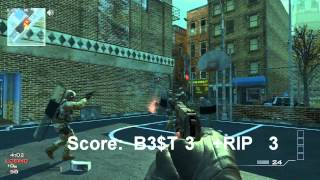 "MW3: New Custom Game Mode ""Throwing Knife Basketball""! 