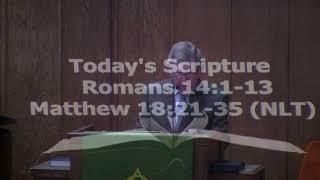 DUMC Sermon September 13, 2020