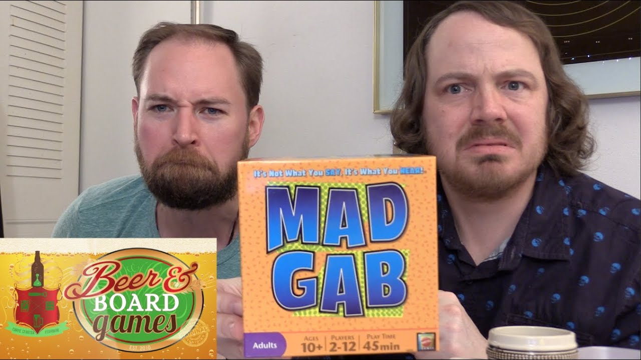 Mad Gab Beer And Board Games Youtube