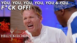 Entire Team Is Kicked Out Over Raw Fish | Hell's Kitchen