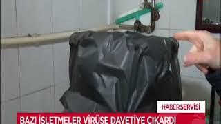 KORONAVİRÜS'E DAVETİYE ÇIKARIYORLAR