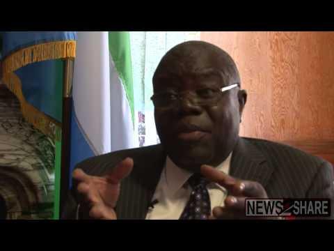 """The United States is Not Immune"" To Ebola: Sierra Leone Ambassador"
