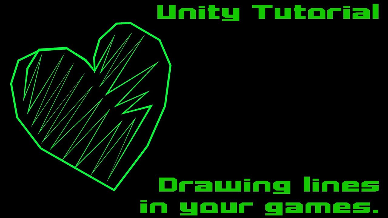 Unity Tutorial - Drawing lines with LineRenderer