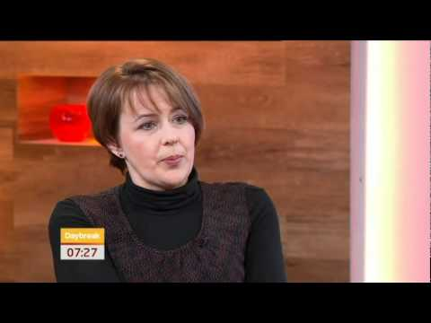 Tanni Grey-Thompson discussing access to public transport on ITV Daybreak