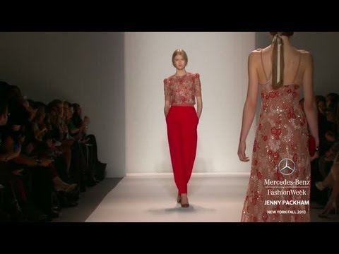 JENNY PACKHAM: MERCEDES-BENZ FASHION WEEK FALL 2013 COLLECTIONS