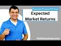 Expected Market Returns | Stock Variances | Corporate Finance | CPA Exam BEC | CMA Exam | Chp 13 p 1