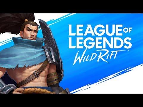 League Of Legends Wild Rift Alpha Live! Day 1