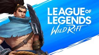 League Of Legends Wild Rift Alpha Live! Day 1