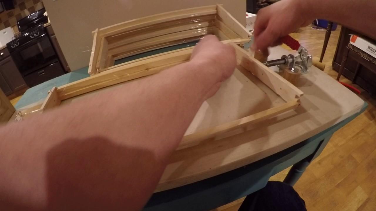 small resolution of beekeeping deep frame wiring using homemade jig