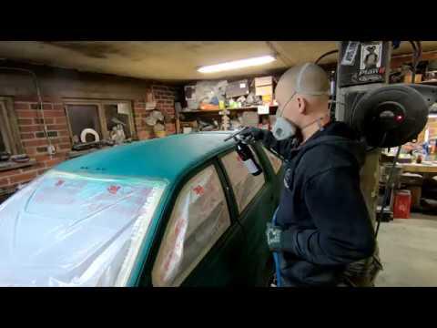 auton maalaus