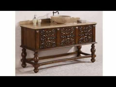 Legion Furniture Solid Wood Bathroom Vanities From HomeThangs.com