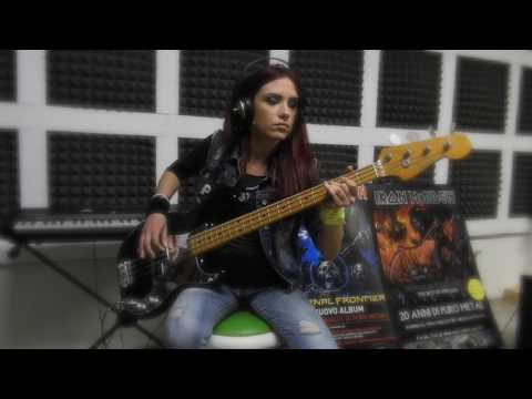 Iron Maiden - Moonchild -bass cover mp3