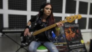 Iron Maiden - Moonchild -bass cover