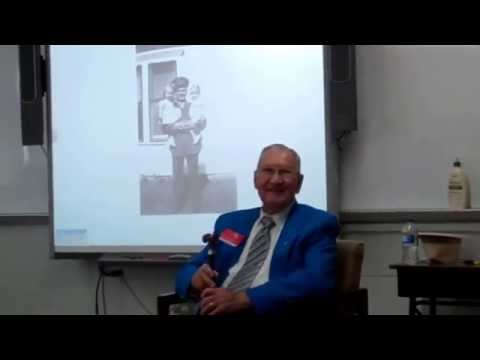 WWII Veteran Talking at Hale High School 5-9-2014