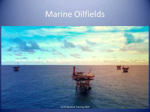 Marine Oil and Gas Field in Trinidad waters