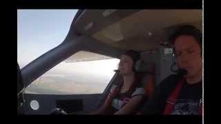 Lot Widokowy Samolotem w Rybniku video