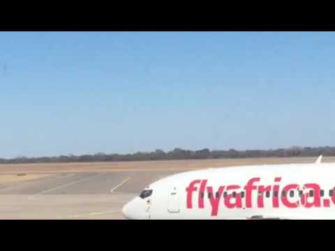 Landing at Bulawayo Airport June 2015 (1 of 2)