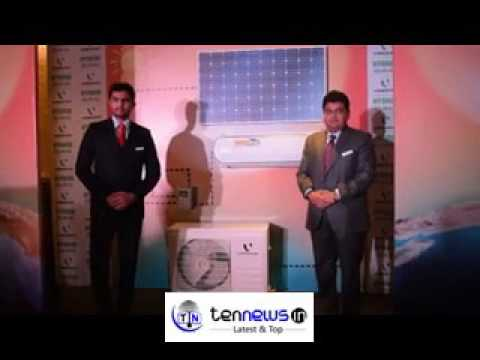 Videocon launches green air conditioner powered by solar energy in New Delhi