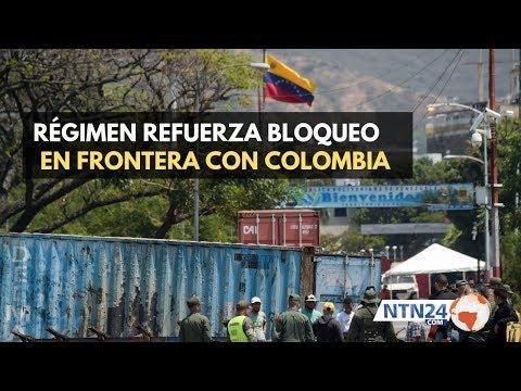 Nuevos contenedores bloquean la frontera colombo-venezolana