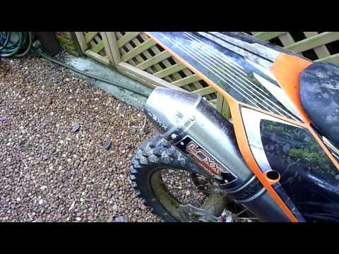Lexx Exhaust Pipe Slip on Suzuki DRZ 400E