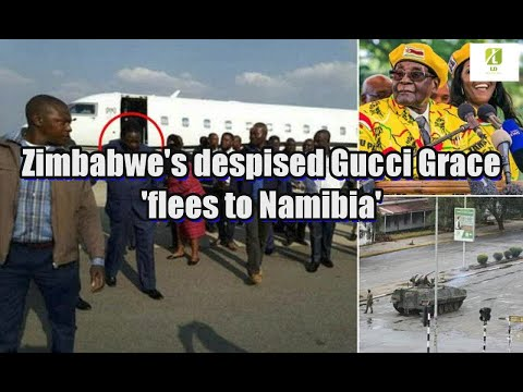 Zimbabwe's despised Gucci Grace 'flees to Namibia'