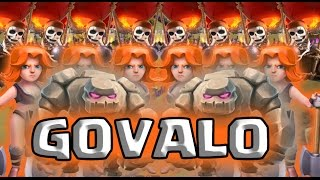 "Clash of Clans || ""GOVALO"" Stratergy 