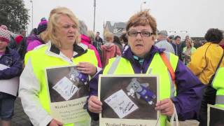 #Ireland: Protest to stop closure of Wexford Women's Refuge
