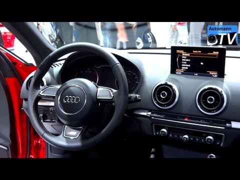 2013 audi a3 sportback s line 2 0 tdi in detail 1080p. Black Bedroom Furniture Sets. Home Design Ideas