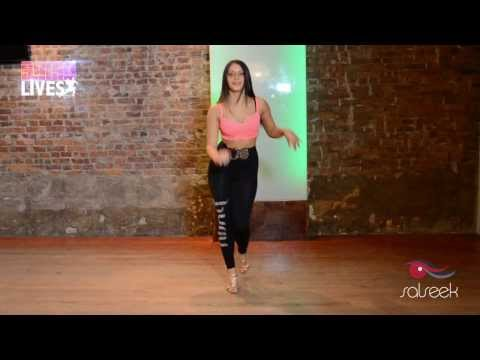 Advanced Salsa Ladies Styling Demo by Shani Talmor