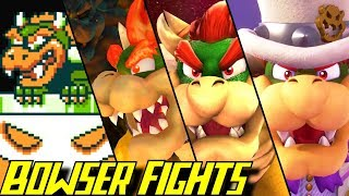 Evolution of Bowser Battles in Super Mario Games (1985-2017)