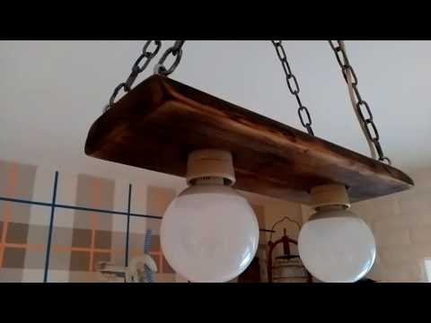 Люстра из дерева своими руками потолочная часть 4 финал смотреть