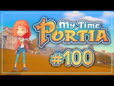 Прохождение My Time At Portia #100 Дискотека века