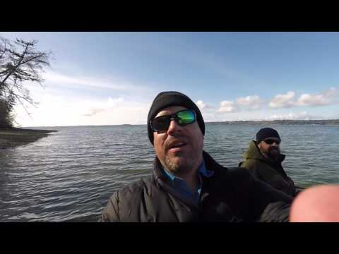 fly fishing for winter searun cutthroat trout