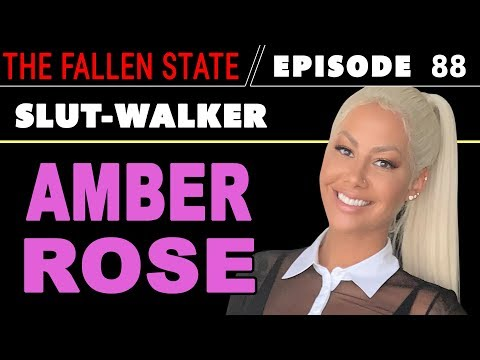 AMBER ROSE UNCENSORED: Talks Kanye vs. Trump, 21 Savage, #MeToo, Sex & SlutWalk (#88)