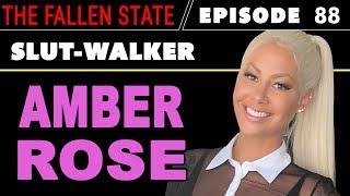 AMBER ROSE UNCENSORED: Talks Kanye vs. Trump, 21 Savage, #MeToo, Sex & SlutWalk (#88)