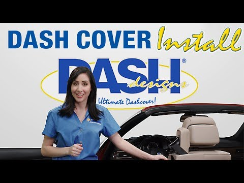 Dash Designs® Dash Cover Installation