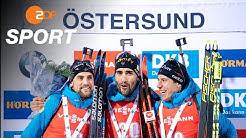 Biathlon: Französisches Podest im Herren Einzel | SPORTextra - ZDF