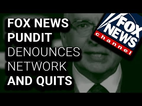 """Ashamed"" Fox News Contributor Quits ""Propaganda Machine"""