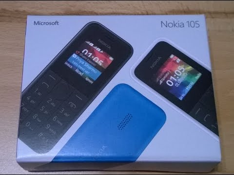 Microsoft 105 - Das neue Nokia 105 Dual Sim - Test/Bericht/Review - GERMAN and ENGLISH (subtitles)