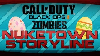 Black Ops 2 Zombies - Nuketown Storyline! Backstory, Richtofen & Marlton Quotes Analysis!