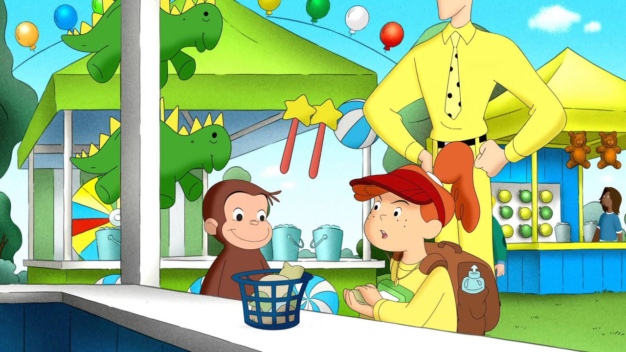 Toy Monkey / George and Allie's Game Plan | Curious George ...