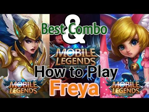 Mobile Legends : How to Play Freya   Best Combo Freya and Nana - Gameplay