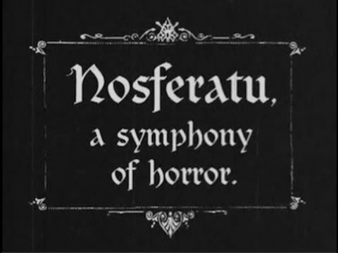 Nosferatu (1922) [Silent Movie]