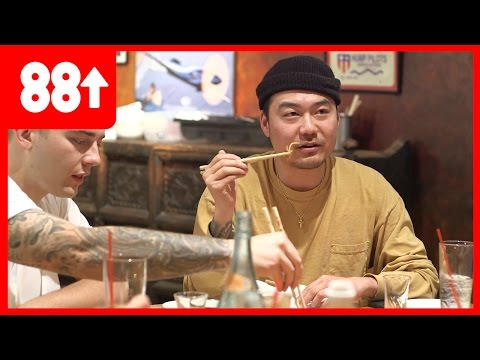 Dumbfoundead and Getter Eat Scorpions and Crickets | Food Trip w/ Chef Chris Oh