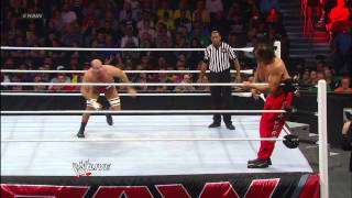 The Great Khali vs. Antonio Cesaro: Raw, Jan. 7, 2013