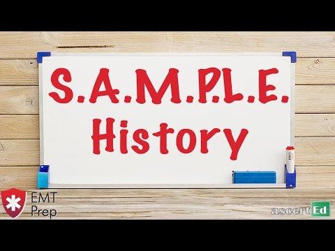 sample patient histories