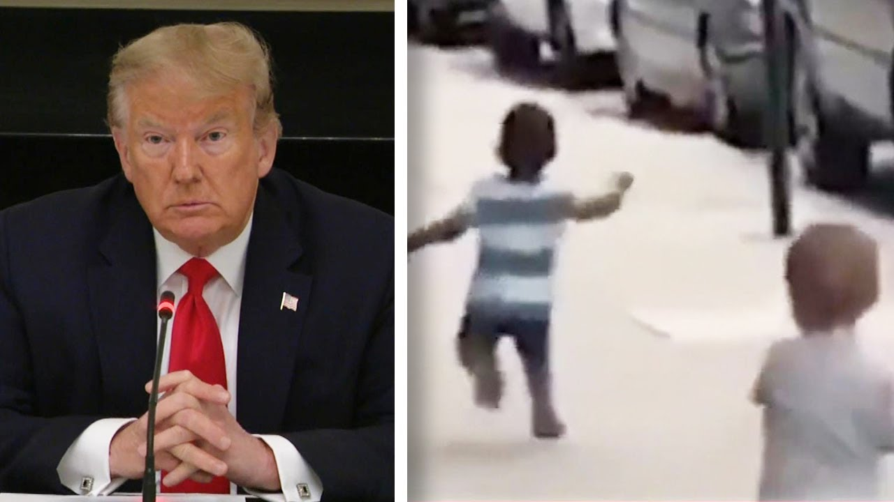 Trump sued by parents of toddlers featured in doctored 'racist baby ...