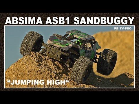 Absima ASB1BL Brushless 1:10 RC Modellauto Elektro Buggy Allradantrieb RtR 2,4 G