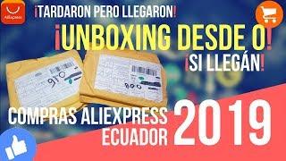 Unboxing desde Cero AliExpress Ecuador 2019