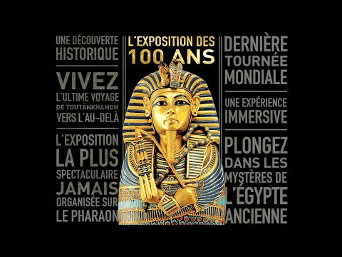 Expo Toutânkhamon Paris - Le trésor du Pharaon
